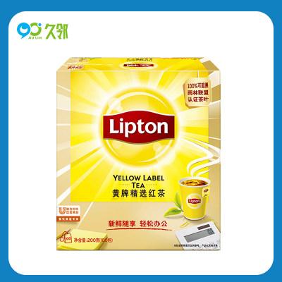 【久邻严选】立顿黄牌斯里兰卡红茶包2g*100袋