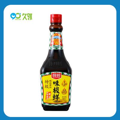 【久邻严选】厨邦味极鲜酱油生抽760ml