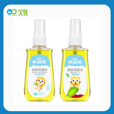 【久邻严选】小浣熊-驱蚊祛痱花露水100ml/瓶