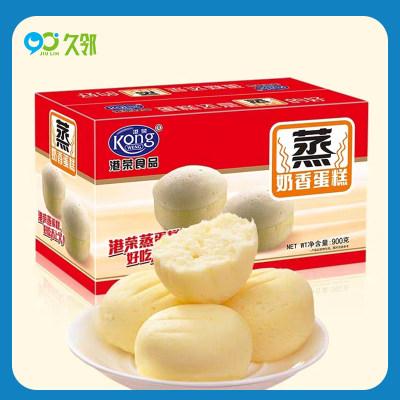 【久邻严选】港荣-蒸蛋糕好吃不上火代餐小面包一箱