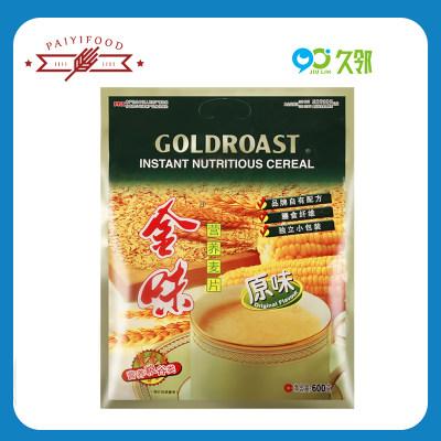 【久邻严选】金味营养麦片原味600g袋装