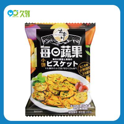 【久邻严选】古奈川九蔬小饼干600g