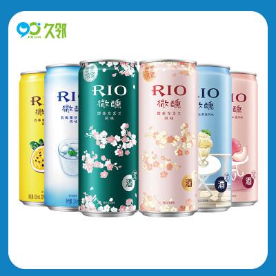 【久邻严选】RIO锐澳-微醺樱花限定系列鸡尾酒330m*6