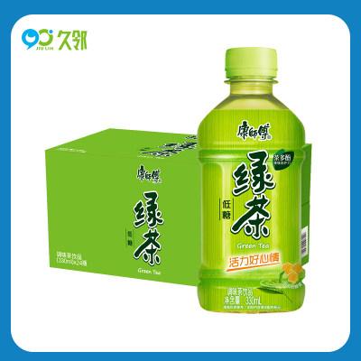 【久邻严选】易烊千玺同款康师傅绿茶蜂蜜味330ml*12瓶
